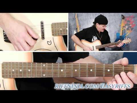 Cool Blues Guitar Riff For Beginners