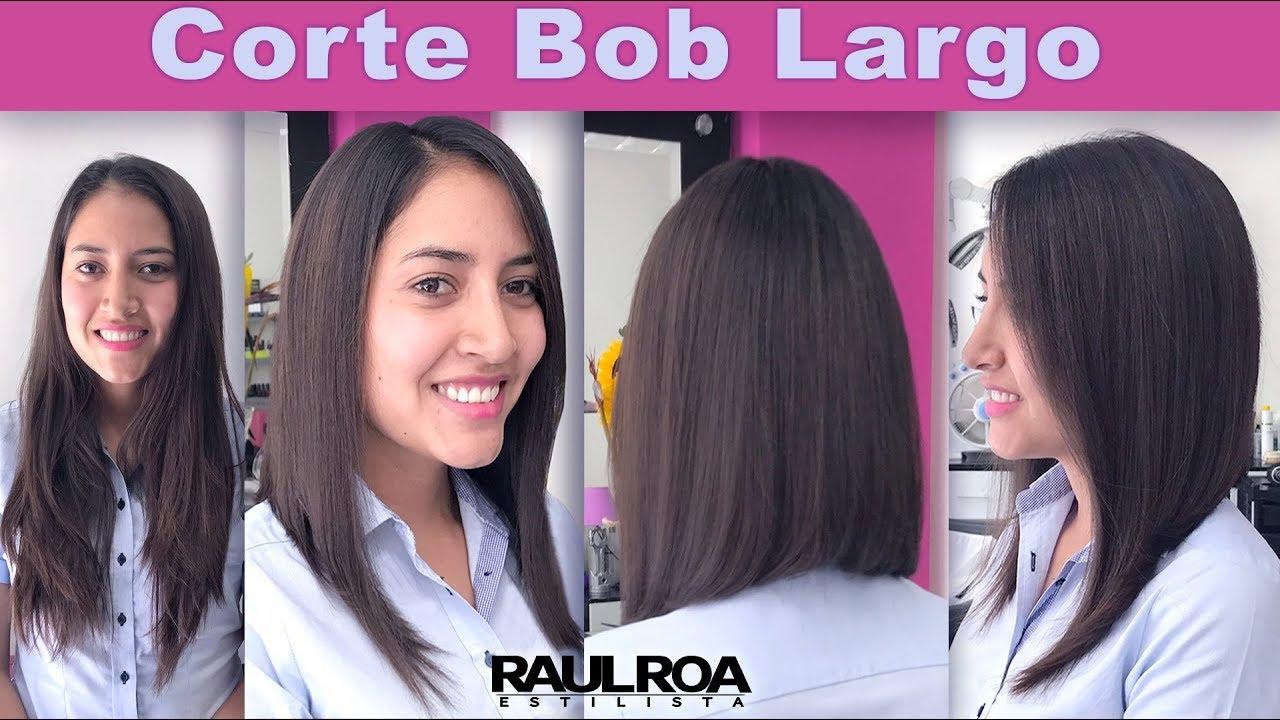 Cortes de cabello largo bob