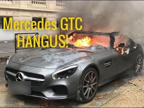 Mobil Mewah Dibakar - Kerusuhan Di Paris Mp3