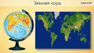 """Видеоурок по географии """"Строение земного шара"""""""