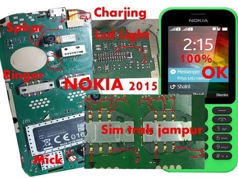 Nokia 215 Charjing,Lcd