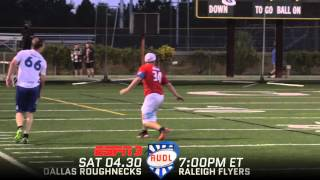 Week 5 | Dallas Roughnecks at Raleigh Flyers | ESPN3 Teaser