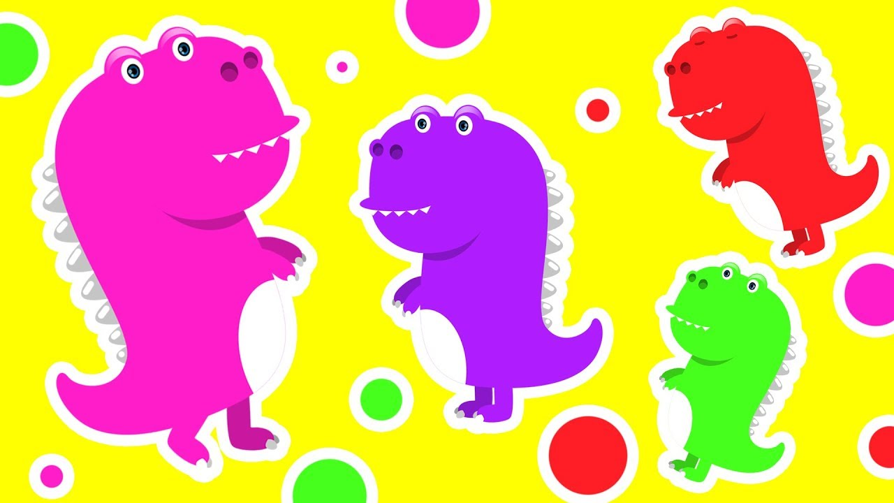 Colors for Children to Learn with Dinosaur Eggs #h ❤️Colours Videos Collection for Children - YouTube