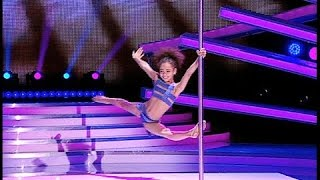 All judges shocked! 8 year old Pole Dancer Emily Moskalenko