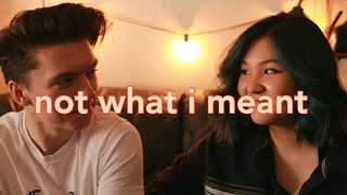 Not What I Meant // Dodie (Cover) ft. Tommy Lassiter