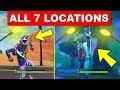 """Dance Under Different Streetlight Spotlights"" – ALL 7 LOCATIONS WEEK 1 CHALLENGES FORTNITE SEASON 6"