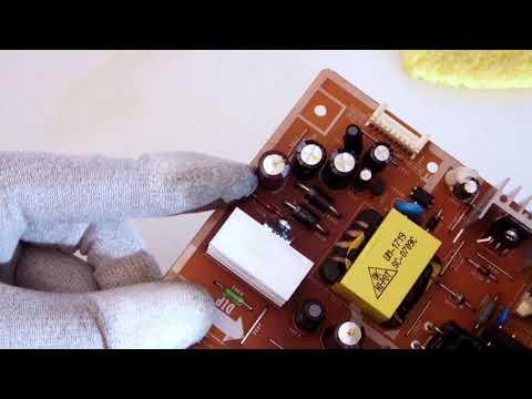 Bildschirm schaltet durch Kondensatorschaden ab