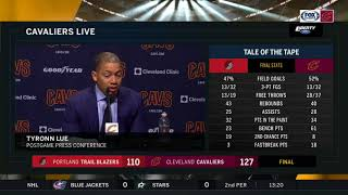 Ty Lue's thoughts on Isaiah Thomas' Cavaliers debut, shares Thomas asked to play more minutes