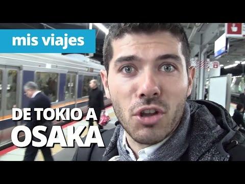 DE TOKIO A OSAKA EN TREN BALA