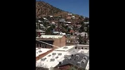 Birds eye view of Bisbee, Arizona