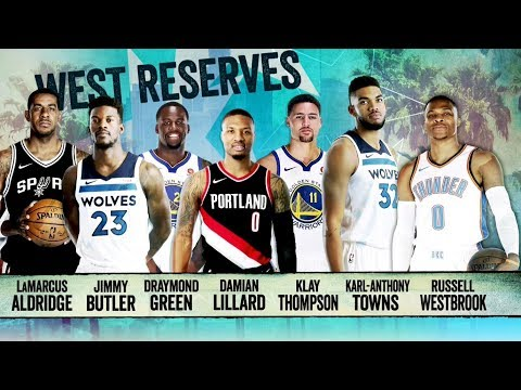 Inside the NBA: West All-Star Reserves Announcement | 2018 NBA All-Star Weekend | Jan, 23