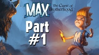 Max: The Curse Of Brotherhood Gameplay Walkthrough Part 1 - The Magic Marker (Xbox One)