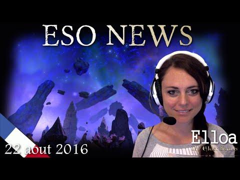 ESO NEWS FR:  22 Aout 2016 (Gamescon, Maj11 retour, Boutique etc)