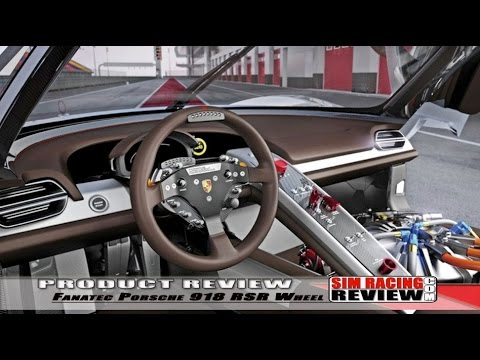 Sim Racing Review Fanatec Clubsport Porsche 918 Rsr Wheel