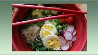Rice Noodle Soup, A One Bowl Wonder
