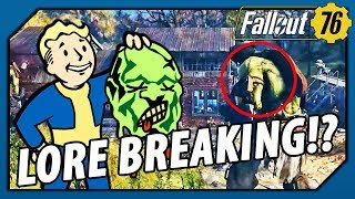 FALLOUT 76 - LORE BREAKING!? THIS could be WHY there are SUPER MUTANTS (Theory)
