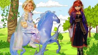 Kiddoz opening magic Frozen 2 Toys