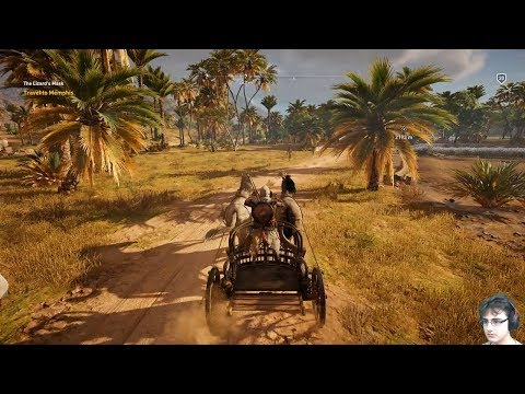 [PC] AC Origins Adventures PT 31 - Traveling To Memphis On A Chariot