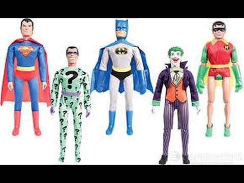 Mego Talk #4: Comparing Mego Batman, Robin and others with Mattel and Figures toys