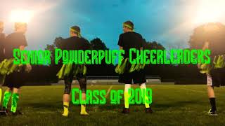 Senior Class Powderpuff Cheerleading Routine