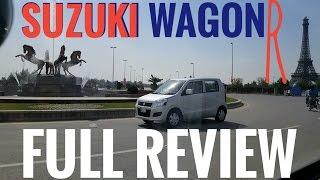 Pak Suzuki Wagon R 1.0L Tall Boy: Full Review | Specs and features | Urdu