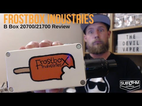 Frostbox Industries - B Box 20700/21700 Series Mech Review