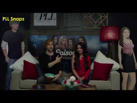 Keegan Allen & Jannel Parrish | Talking about Series Finale of PLL | LIVE Q&A