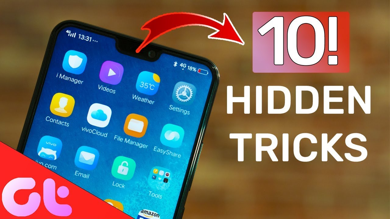 Top 10 Vivo V9 Hidden Tips Tricks Users Must Know YouTube