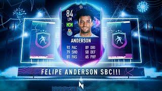 FELIPE ANDERSON RTTF SBC! - FIFA 21 Ultimate Team