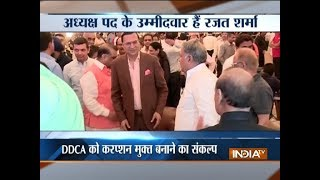 DDCA Elections 2018: Rajat Sharma promises to end corruption in DDCA