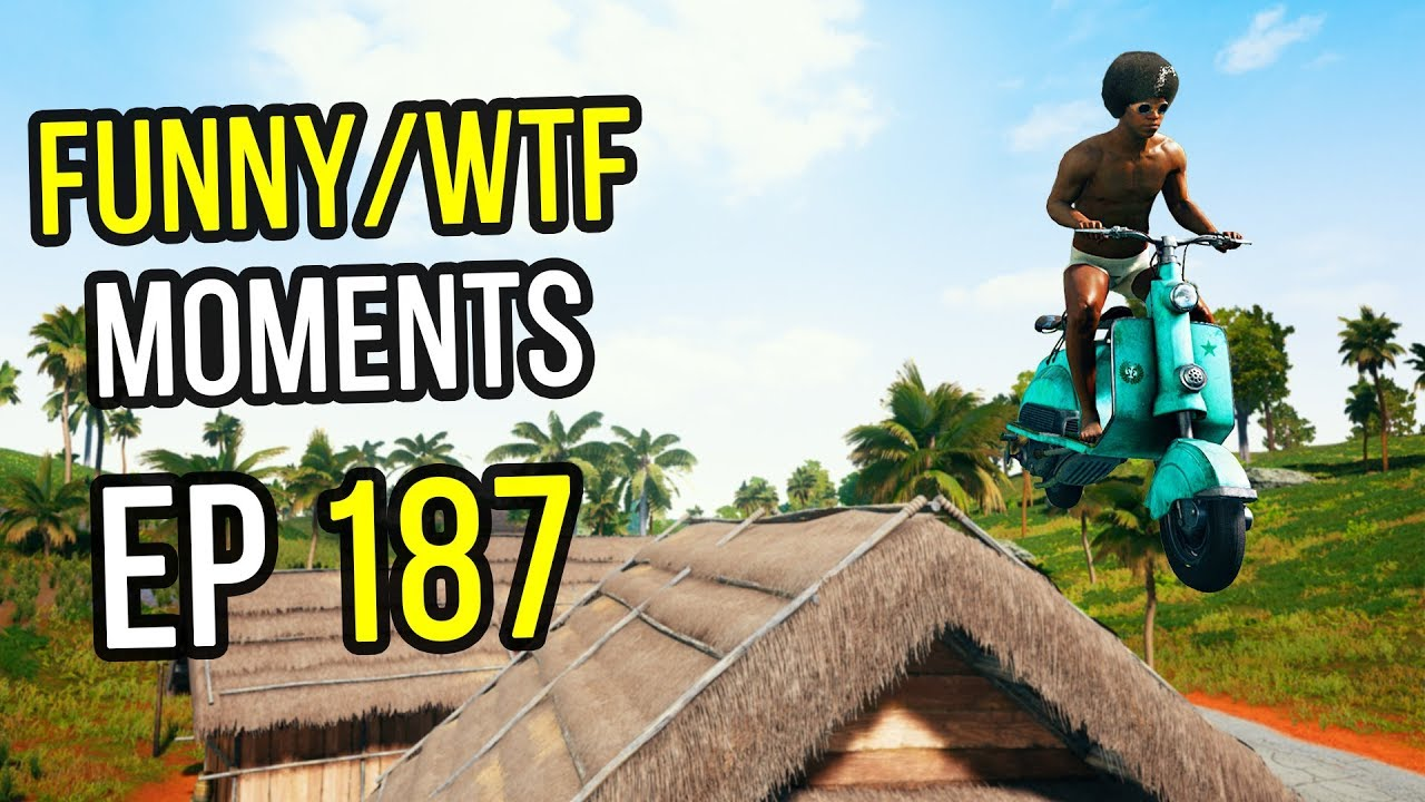 PUBG: Funny & WTF Moments Ep. 187