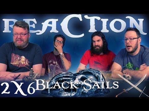"Black Sails 2x6 REACTION!! ""XIV."""
