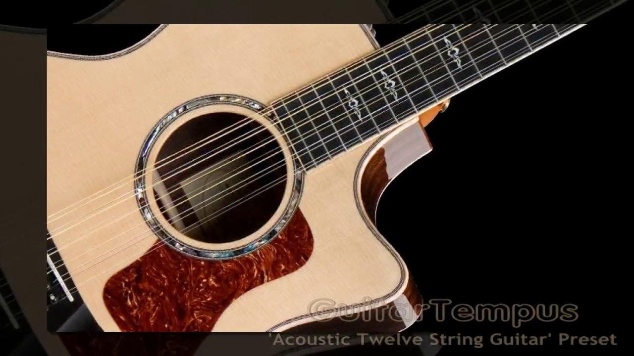 virtual acoustic guitar nylon 6 12 steel string semi acoustic electric guitars vst win. Black Bedroom Furniture Sets. Home Design Ideas