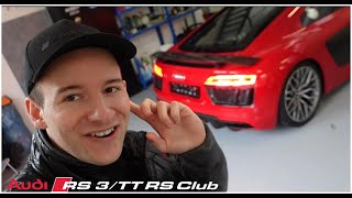 PICKED UP MY FIRST CAR!!! RS3, RS4, RS6, R8 #4