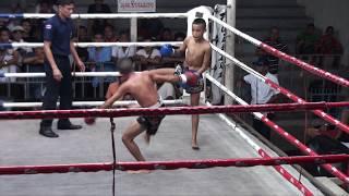 Pechwanon TigerMuayThai vs Sakchainoi Gor.Jaroensak 19/5/17