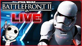 War lang genug weg! 🔴 Star Wars: Battlefront II // PS4 Livestream