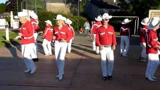 TUSH PUSH - 60 ans du stade de LEUHAN 29s - FRANCE - HD - LES CHEYENNES