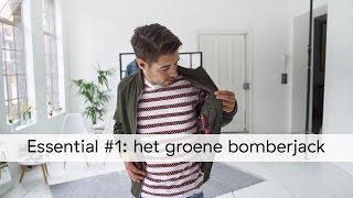 Zo draag je het groene bomberjack - Essential #1 - MEN TODAY