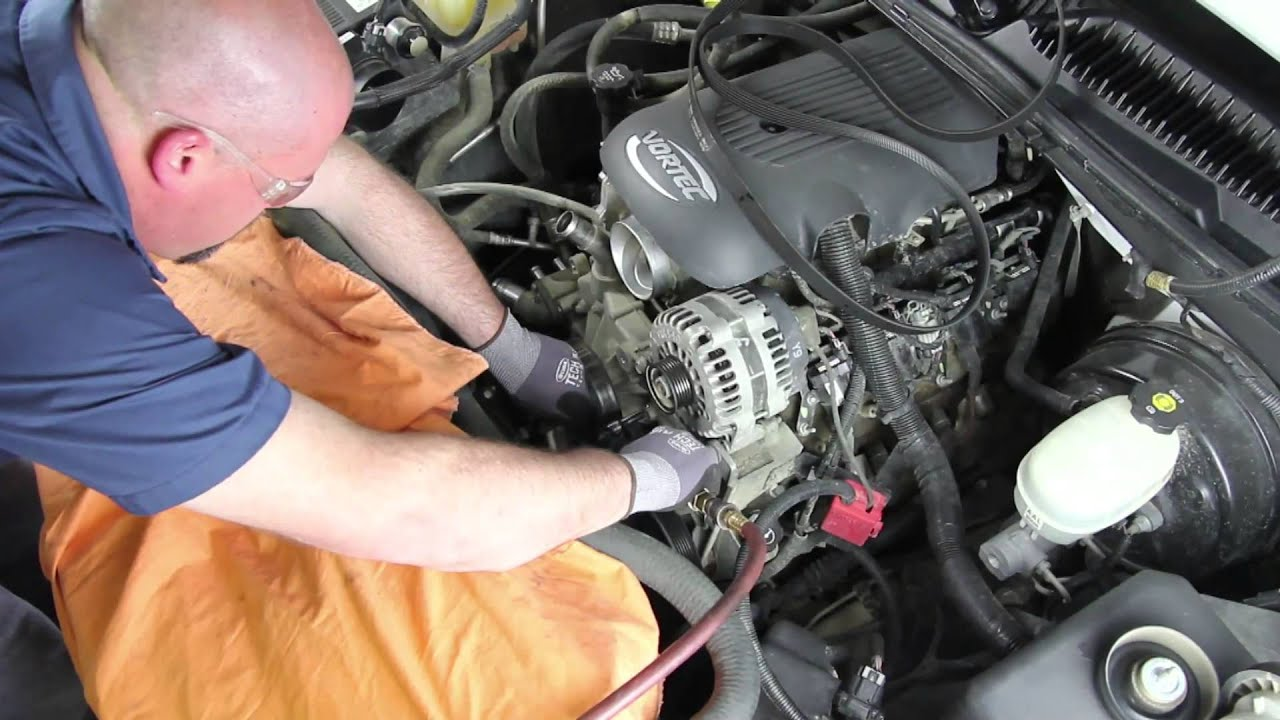 hight resolution of how to install a water pump 1999 2005 chevrolet silverado 1500 4 8l v8