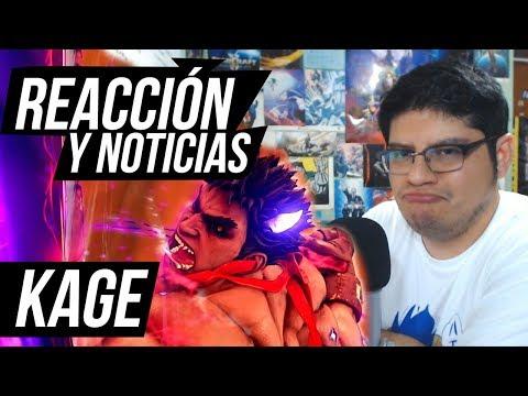 Reacción y noticias de Kage - Street Fighter v