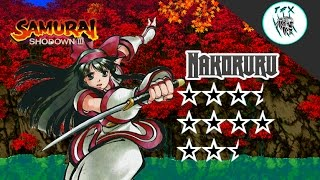 Samurai Shodown III /  Nakoruru [Arcade Playthrough]
