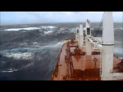 Western Aida In Pacific Ocean! #storm #pacific #sea
