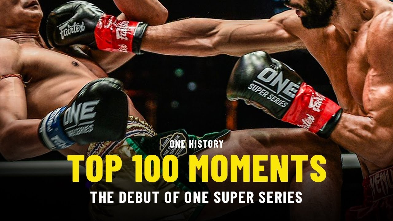 Top 100 Moments In ONE History | 3 | The Debut Of ONE Super Series