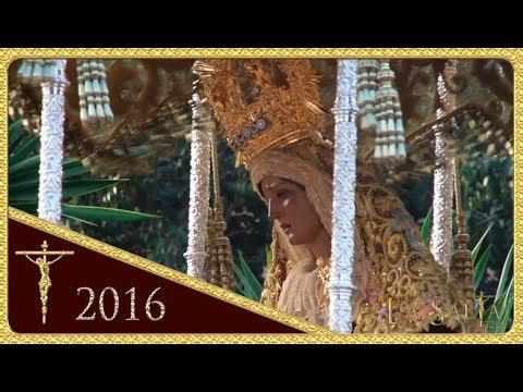 Salida de la Virgen María Stma. del Amor  - Hermandad de Pino Montano (Semana Santa Sevilla 2016)