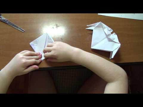 Оригами медуза