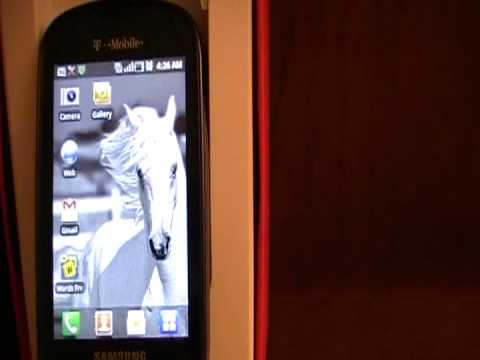 Samsung Gravity Smart SGH-T589 Phone Review