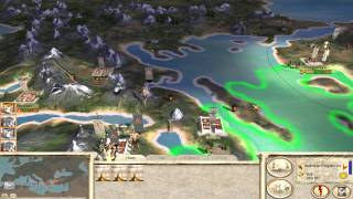 Rome Total War HD Greek Short Campaign Reborn Part 1