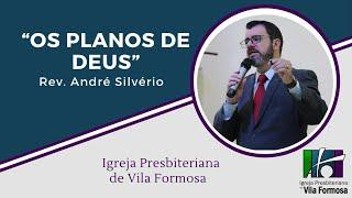 """""""Os Planos de Deus"""" - 16-02-2020"""