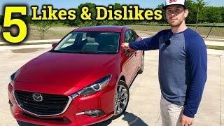 Living With The New Mazda3 | 2018 Mazda3 5 Likes and Dislikes