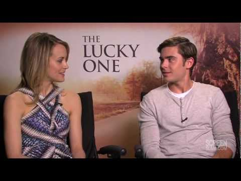 The Lucky One: Zac Efron and Taylor Schilling Raw Interview